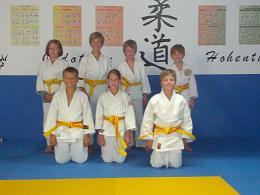 Guertelpruefung gelb-orange 2012